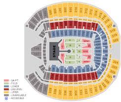 Centurylink Arena Seattle Seating Chart Centurylink Field Seattle