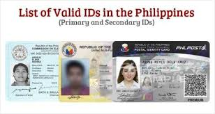 Philippines Philippine List Ids Of - Valid The In
