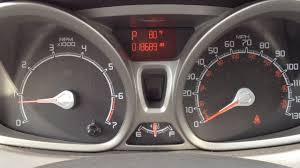 What Does The Wrench Light Mean On A Ford Fiesta Ford Quick Tips 12 Oil Life Reset 2011 Ford Fiesta 2012 Focus
