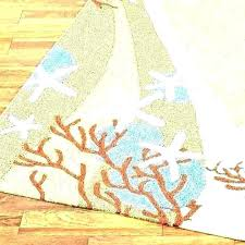 beach themed runner rugs beach rug runners house rugs indoor nautical outdoor runner c waves coastal