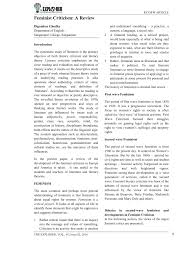 Pdf In The Present Paper A Review Of The Development Of The