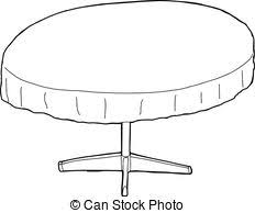 table clipart black and white. white table cliparts #2572177 clipart black and s