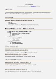 Resume For A Highschool Student 9920 Drosophila Speciation