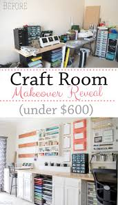 craft room office reveal bydawnnicolecom. Office Craftroom Tour. Craft Room Makeover Reveal - From No! To Wow! For Bydawnnicolecom
