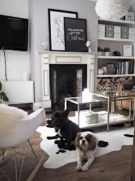 Miraculous 20 Living Rooms Adorned With Cowhide Rugs Home Design Lover At  Rug Room ...