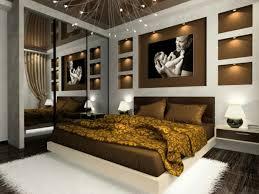 Schlafzimmer Wandgestaltung Braun 15 Tapete Schwarz Laminatboden  Galleries