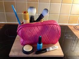 makeup bag cake tutorial make up bag cake by craftsy
