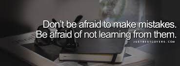 Learning From Mistakes Quotes Impressive Quotes About Learn From Mistakes 48 Quotes
