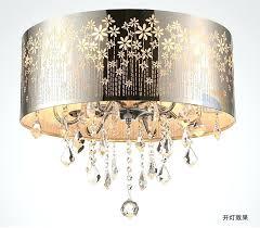 drum light chandelier. Drum Light Chandelier Modern Led Lustre Crystal Ceiling Lamp Fixture Lighting Dining Room