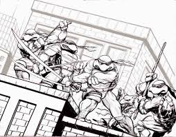 Small Picture Mutant Ninja Turtles Colouring Pages Free Printable Turtle