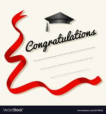 Word For Congratulations Card Template With Congratulations Word