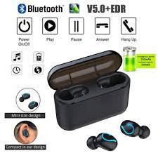 Edr Design Amazon Com Black Bluetooth V5 0 Edr Headset Compact