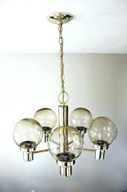 glass globe chandelier glass globe chandelier mid century atomic brass glass globe chandelier ceiling by glass