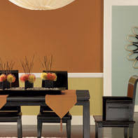 kitchen and dining room paint colors. orange dining room interior paint from benjamin moore kitchen and colors m