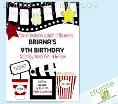 printable movie themed invitations our movie invitation is kids birthday party invitations templates printable hi everyone please come and join at monica 8 years old birthday party monica will be turning