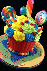 Fun Giant Cupcake Birthday Party Fun Giant Cupcake Birthday Cake