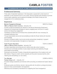 Tour Manager Resume Best Tour Manager Resumes ResumeHelp 25