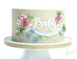 Simple Girl Baby Shower Cakes Papersimpleco