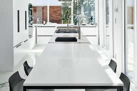 Ilot Blanc Cuisine Moderne Renovation