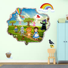 wizard of oz wall decals the wizard of oz wall stickers kids wall decals