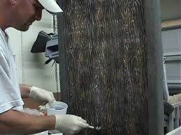 decorative concrete weeping water wall