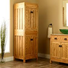 Freestanding Linen Cabinet Bathroom Alluring Bathroom Linen Cabinets Tower Bath Storage