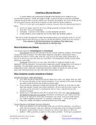 Functional Resume Sample For Career Change