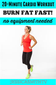 20 minute fat burning cardio workout no equipment needed