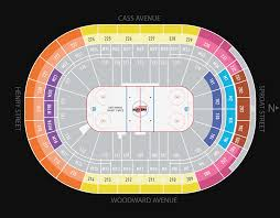 Little Caesars Arena Seating Chart Cirque Du Soleil Madison Square Garden Online Charts Collection