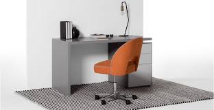 office orange. An Office Chair, In Marigold Orange And Persian Grey L