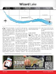 Wizard Lake Depth Chart Wizard Lake Alberta Anglers Atlas