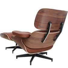 modern recliner chair. Astonishing Design Of The Brown Wooden Frame Modern Recliner Chair With Leather Seat Ideas