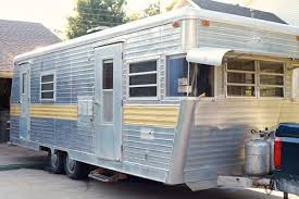 Diy travel trailer Remodel Glamper 1 Glenl Vintage Camper Turned Glamper Diy Renovation The Noshery