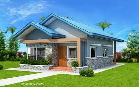 3 BEDROOM HOUSE PLAN WITH TOTAL FLOOR AREA OF 80 SQUARE METERS
