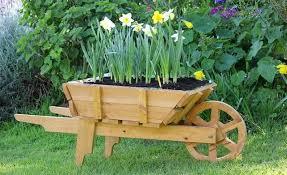 11 wheelbarrow planter