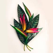 bird of paradise wall art by copper art on front gate wall art with bird of paradise wall art by copper art frontgate