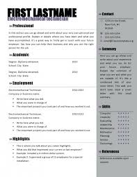 Microsoft Word Resume Template Inspiration Resume Template Free Download Microsoft Word Crescentcollege