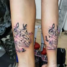 You also can try to find many matching options listed here!. Fine Musical Note Tattoos On Forearm