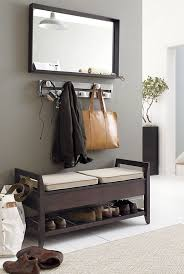 Coat Rack With Bench Seat Entry Hall Tree Coat Rack Storage Bench Seat Tradingbasis Intended 70