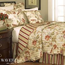 8 best Master Bedroom Ideas images on Pinterest   Bedrooms ... & Charleston Chirp Floral Quilt Bedding Set by Waverly--Touch of Class Adamdwight.com