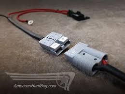 diamond micro4v2 plug play amplifier kit for harley saddlebag high power connectors