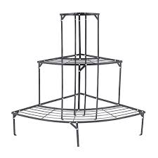 Outdoor Corner Plant Shelves Corner Outdoor Plant Stand Quarter Round On Sale Fast Delivery 2