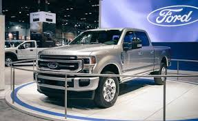 The 2020 Ford F Series Super Duty New Engines And Big