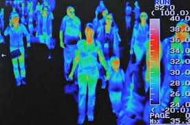 thermal scanners hunt for swine flu photo essays time a thermal scanner installed in incheon airport in seoul displays the body temperatures of passengers arriving