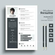 Modern Professional Resume Layout Modern Resume Formats Professional Template Download Format Cv