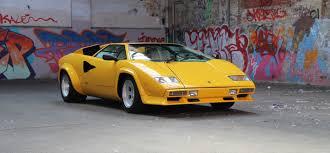 Lamborghini Countach Yellow РId̩e d'image de voiture
