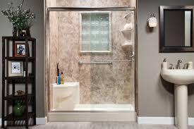 diy convert bathtub to walk in shower thevote how to convert a bathtub into