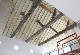 rustic ceiling beams