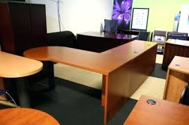 t shaped office desk. L Shaped Office Desks Used Cherry By Hon T Desk