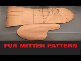 Mitten Pattern Amazing FUR MITTEN PATTERN YouTube
